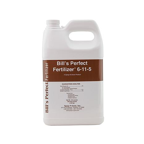 Spray-N-Grow® Bill's Perfect Fertilizer® Gallon Bottle