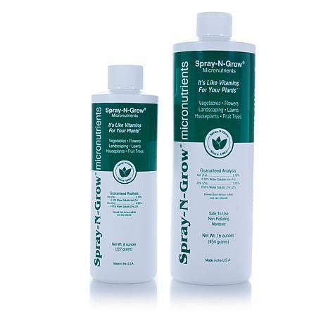 Spray-N-Grow Micronutrients 16 oz. & 8 oz. Bottles