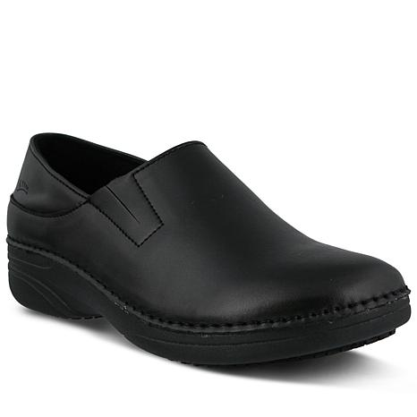 Spring Step Professional Manila Leather Slip-On Shoes