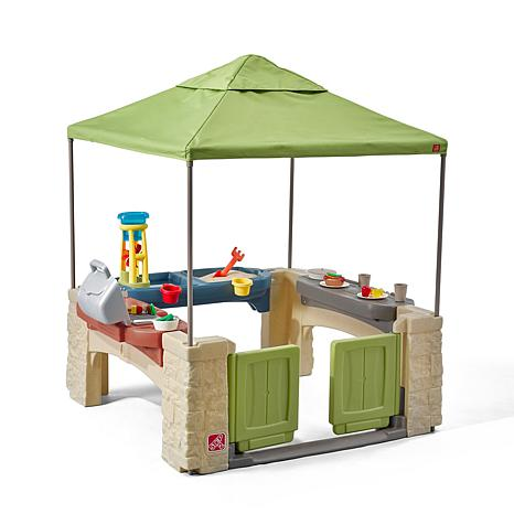 step 2 All-Around Playtime Patio with Canopy