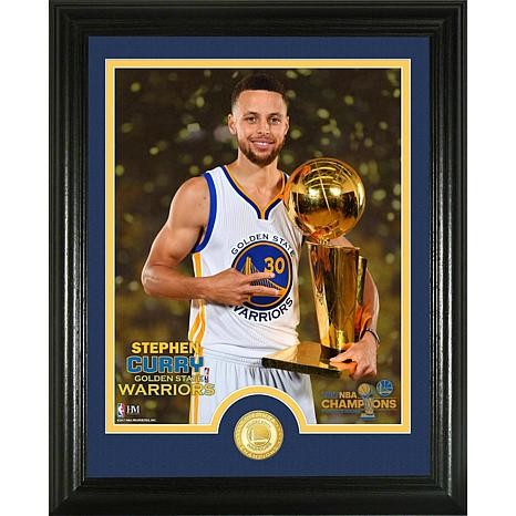 """Stephen Curry 2017 NBA Finals """"Trophy"""" Coin Photo Mint"""