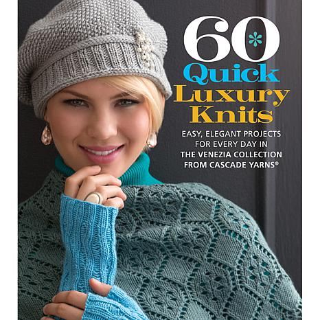 "Sterling Publishing ""60 Quick Luxury Knits"" Book"