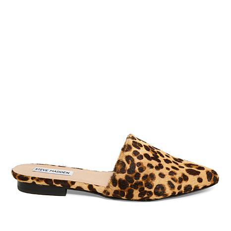 Trace Leopard Print Pony Hair Mules 3s4TETbrs