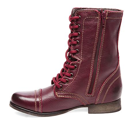 897597156140 Steve Madden Troopa Leather Combat Boot - 8810204