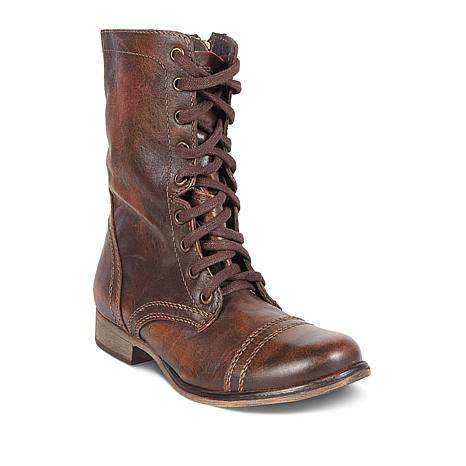 fe03e6dc1db Steve Madden Troopa Leather Combat Boot - 8810204