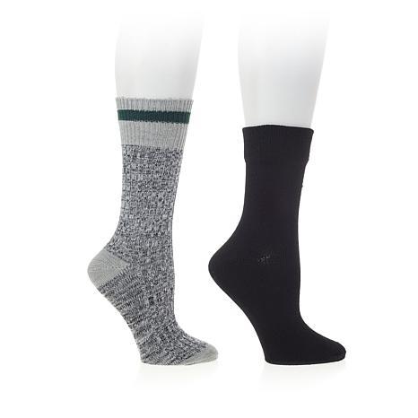Steven by Steve Madden 2-pack Marl Boot Socks