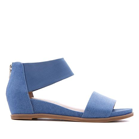 Steven Natural Comfort Evan Ankle-Strap Wedge Sandal
