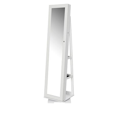 StoreSmith Freestanding and Rotating Jewelry Armoire
