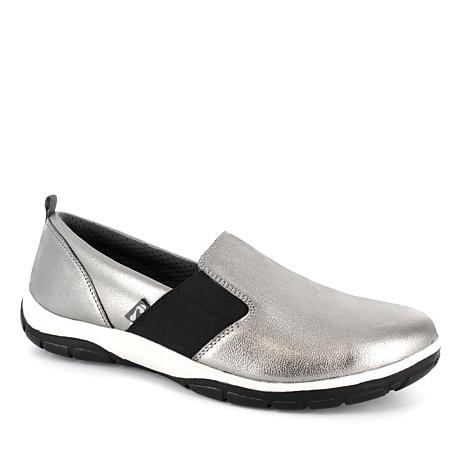 Strive Stowe Casual Slip-On Leather Orthotic Shoe