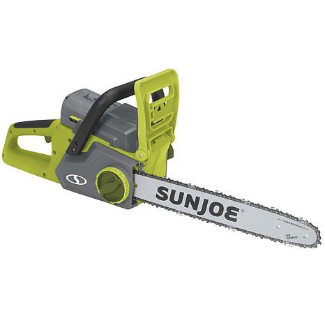Sun Joe 40V Cordless Chain Saw with Brushless Motor