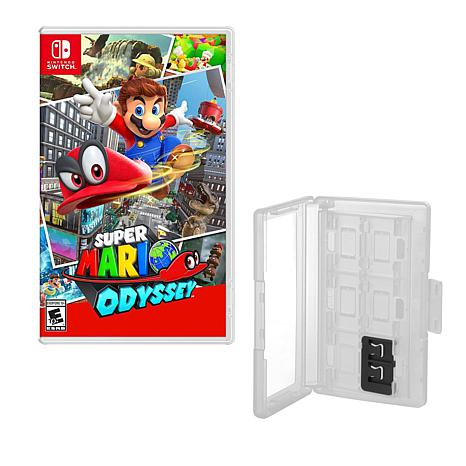 """""""Super Mario Odyssey"""" Game for Nintendo Switch with Game Caddy"""