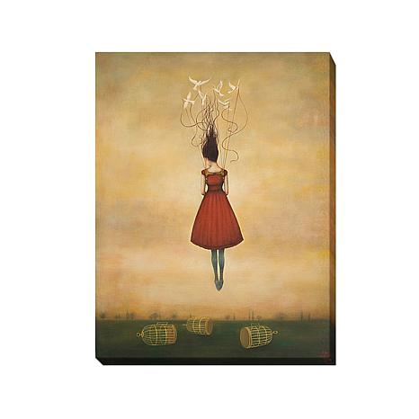 """Suspension of Disbelief"" Gallery-Wrapped Canvas Art"