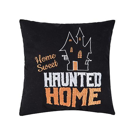 Sweet Haunted Home Pillow