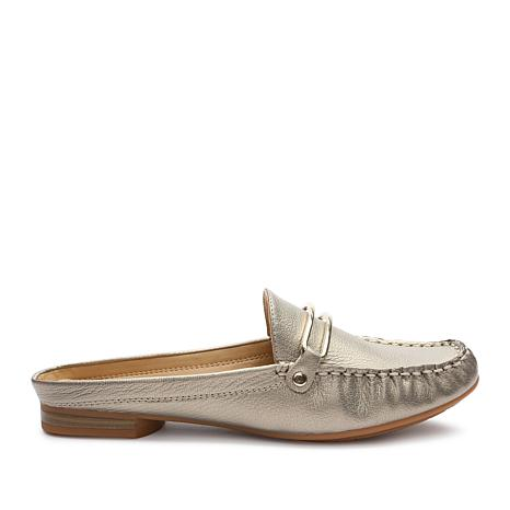 Tahari Klinton Leather or Suede Slip-On Mule