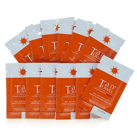 TanTowel® Half-Body Plus 12-pack AS