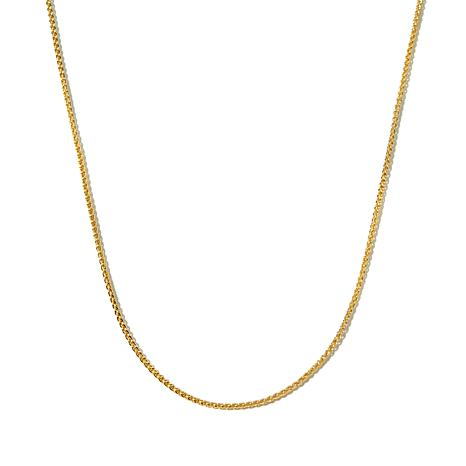 "Technibond® 1.5mm Spiga Link 18"" Chain Necklace"