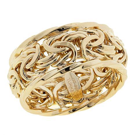 Technibond® Byzantine Band Ring