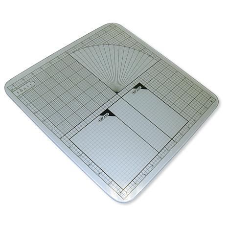 Tempered Glass Mat 13 - 12X12 Measuring Grid