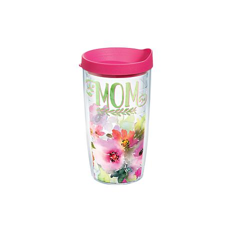 Tervis Mom Watercolor Floral 16 oz. Tumbler with Lid