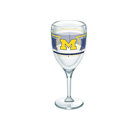 Tervis NCAA Reserve 9 oz. Wine Glass - Michigan