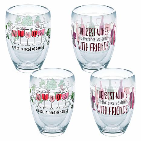Tervis Winos Wine with Friends 4-pack 9 oz. Tumbler