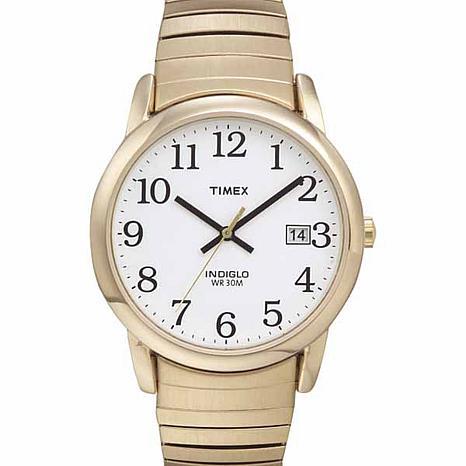 Timex Men's Goldtone Steel Easy Reader Expansion Watch