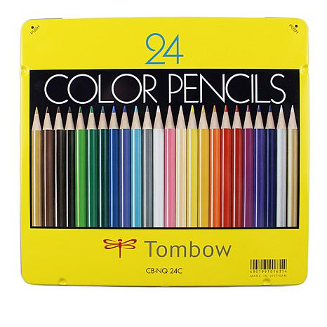 Tombow 1500 Colored Pencils 24-pack
