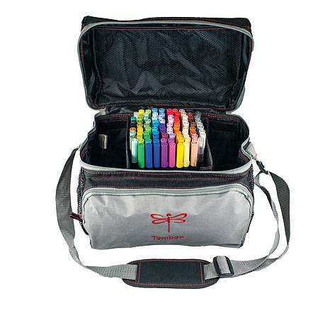 Tombow Storage Tote - Black and Red