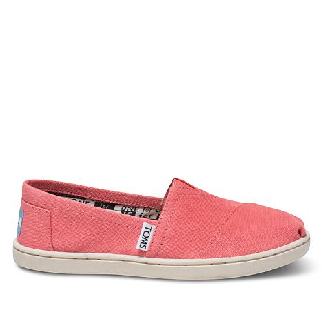 TOMS Youth Classic Canvas Slip On