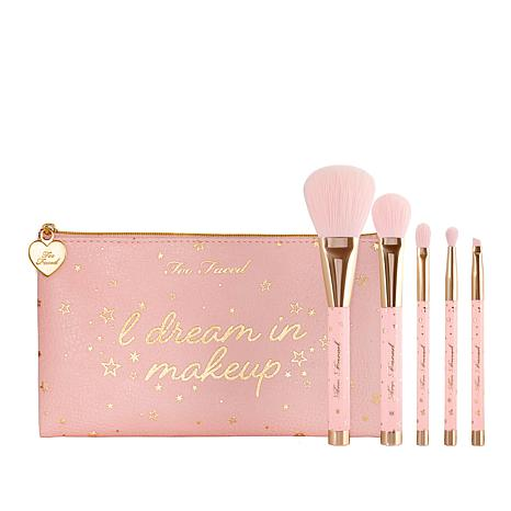 Too Faced Christmas Dreams 5-piece Brush Set