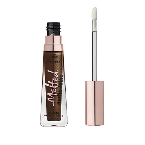 Too Faced Melted Matte-tallic Caffeine Queen Liquified  Lipstick