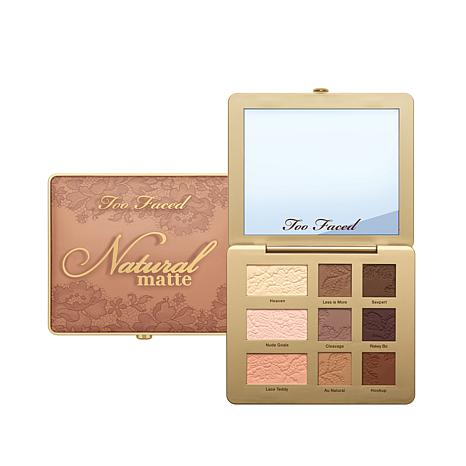 Too Faced Natural Matte Eyeshadow Palette