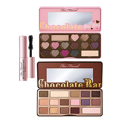 Too Faced Ultimate Chocolate Shadow & Mascara Set