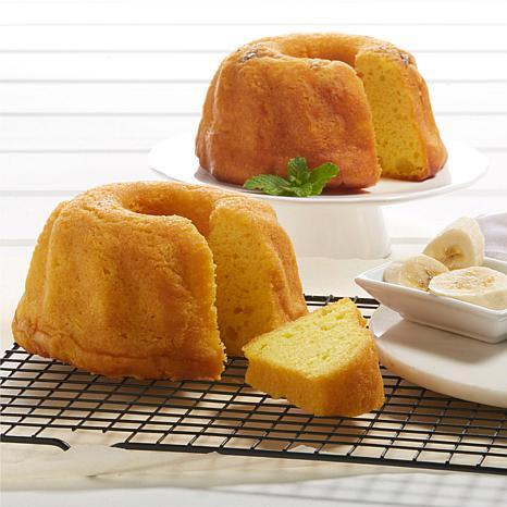 16 oz. Banana Rum Cake and 16 oz. Golden Rum Cake | HSN