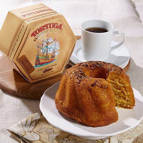 Tortuga Golden Rum Cake & Caribbean Key Lime Rum Cake Duo - 7796588 ...