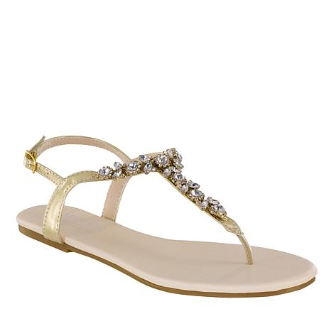 Touch Ups Paula Jeweled Thong Sandal