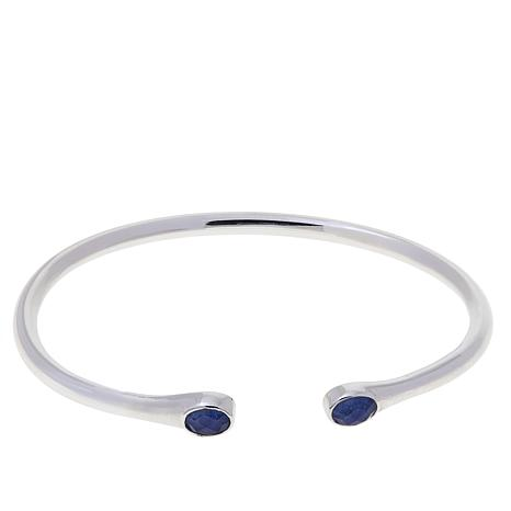 Traveler's Journey Sodalite Flexible Cuff Bracelet