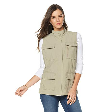 TravelSmith Women's 12-Pocket Travel Vest - Missy