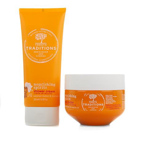 Treets Traditions Nourishing Shower Duo