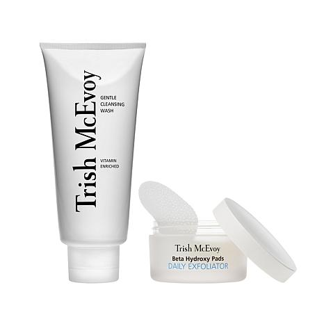 Trish McEvoy Cleanse and Exfoliate Duo