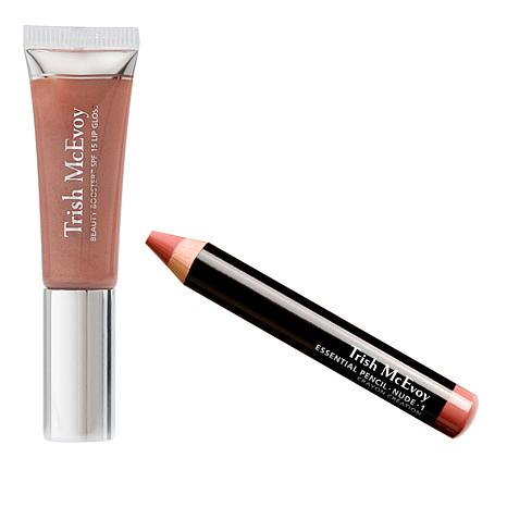 Trish McEvoy Essential Pencil and Lip Gloss Duo
