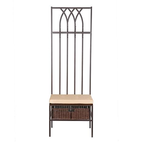 Tristan Hall Tree Entry Bench 6408532 Hsn