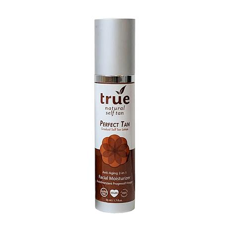 True Naturals Perfect Tan Face Self Tanner and Moisturizer 2-in-1