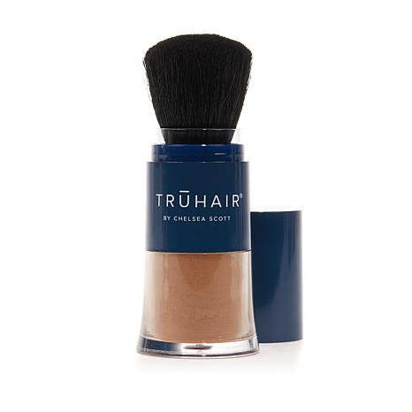 truhair by chelsea scott color n lift thickening fibers auburn