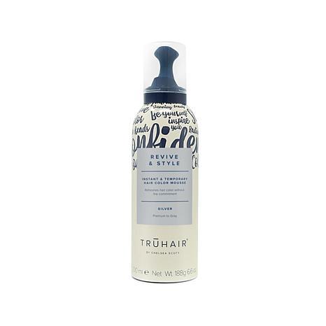 TRUHAIR Revive & Style Color Mousse - Silver