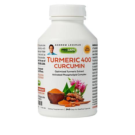 Turmeric-400 - 240 Capsules