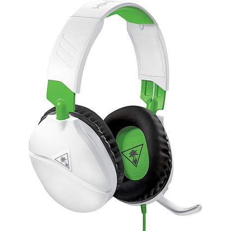Turtle Beach Recon 70 White/Green Gaming Headset for Xbox One
