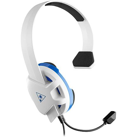 Turtle Beach Recon Chat White Gaming Headset - PS4 and PS4 Pro