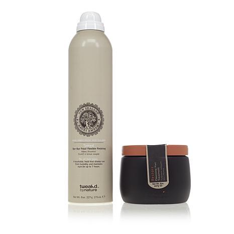 Tweak-d Restore and Tame'd 2-piece Hair Care Kit