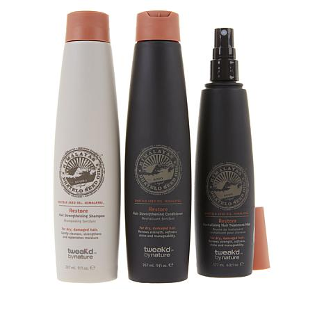 Tweak-d Restore Hair Strengthening 3-piece Set